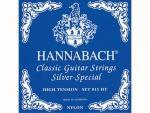 Струны для классической гитары, нейлон/посеребренные, 815HT Blue SILVER SPECIAL, Hannabach