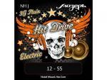 Струны для электрогитары, 12-55, NH-J Hit Drive Jazz, Мозеръ