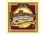 Струны для акустической гитары 10-50, P02047 Earthwood Silk-Steel, Ernie Ball