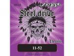 Струны для электрогитары, сталь, 11-52, SH-H Steel Drive, Мозеръ